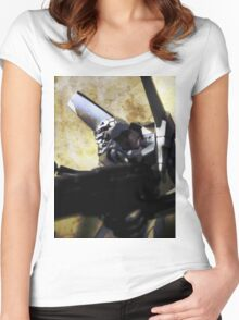 ©DA EVA04-I Women's Fitted Scoop T-Shirt