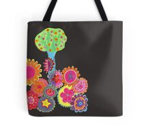 Blissful Garden Tote Bag