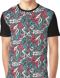 Vector Graffiti Graphic T-Shirt