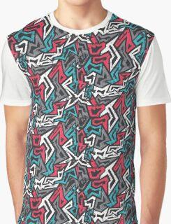 Vector Graffiti Graphic T-Shirt