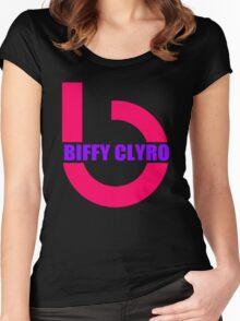 Biffy Clyro Symbol Women's Fitted Scoop T-Shirt