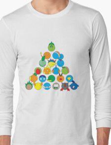 Pokemon Starter Pyramid Long Sleeve T-Shirt