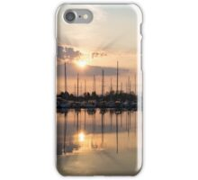 Crepuscular Rays - Golden Sunbeams Sunset iPhone Case/Skin