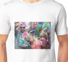 HOLI Color Festival, Family Style! Unisex T-Shirt