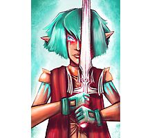 Warrior Elf Photographic Print