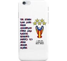 Barcelona 2015 Champions League Final Winners iPhone Case/Skin