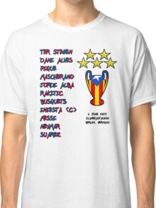 Barcelona 2015 Champions League Final Winners Classic T-Shirt