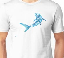 North By Northwest Blue Shark Unisex T-Shirt
