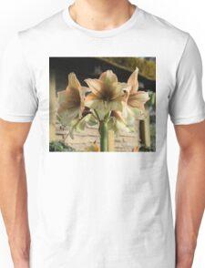Pale Pastel Amaryllis  Unisex T-Shirt
