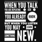 Listen to learn by WAMTEES