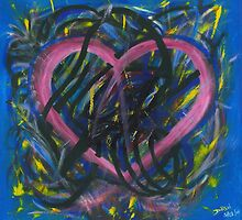 Pink Heart by Dianne Rini