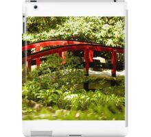 Red Bridge Zen iPad Case/Skin