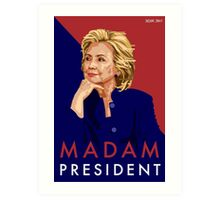 Hillary Illustration Art Print