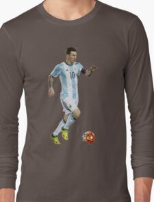 Lionel Messi - Argentina Long Sleeve T-Shirt