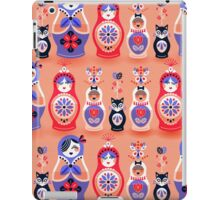Russian Nesting Dolls – Pink & Lavender iPad Case/Skin