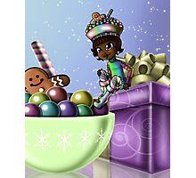 Sweet Christmas Candy Joy Photographic Print