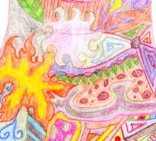 Matryoshka Zentangle Sticker