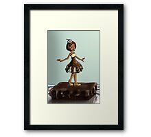 Sweet Chocolate Sundae Zenobia Framed Print