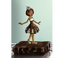 Sweet Chocolate Sundae Zenobia Photographic Print