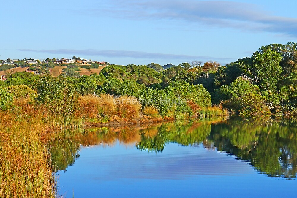 Morning Light at the Lagoon by Graeme  Hyde