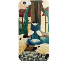 Belle Reading a book iPhone Case/Skin