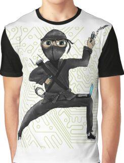 Cyber Ninja Graphic T-Shirt