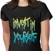 Invest In Yourself 001 Womens Fitted T-Shirt