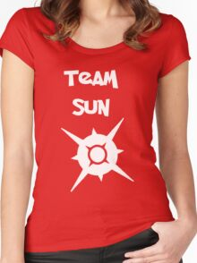 Team Sun Women's Fitted Scoop T-Shirt