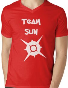 Team Sun Mens V-Neck T-Shirt