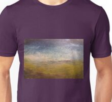 Empty beach with thongs Unisex T-Shirt
