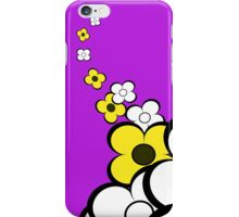 Yellow & White Flowers iPhone Case/Skin