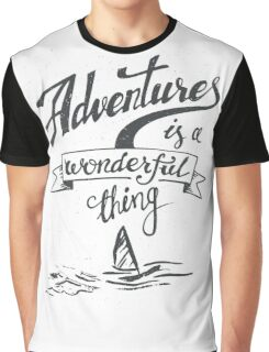 Adventrues Is A Wonderful Thing Graphic T-Shirt