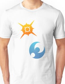 Pokemon Sun and Moon Symbols Unisex T-Shirt