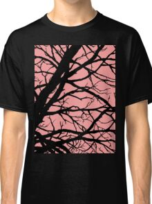 Bold Pink Tree Classic T-Shirt