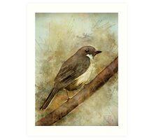 A Bird in the Bush Art Print