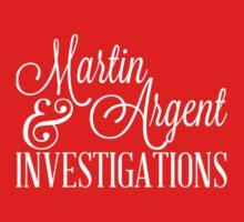 Martin & Argent Investigations v2 Baby Tee