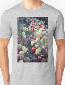 Tulip Fields Unisex T-Shirt