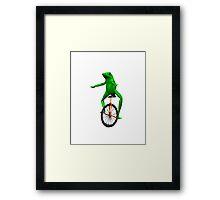 Dat Boi (High Resolution) Framed Print