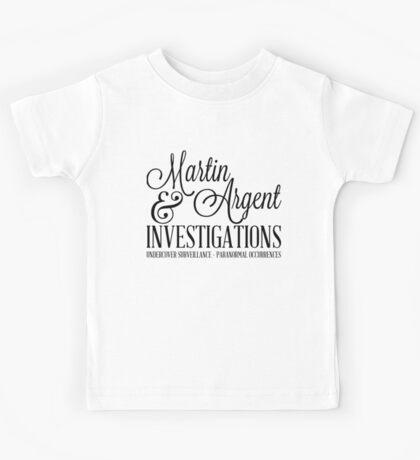 Martin & Argent Investigations Kids Tee