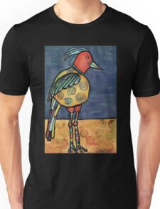 Lolly legged bird Unisex T-Shirt
