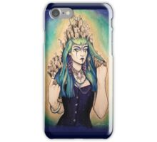 Winter Cemetery iPhone Case/Skin