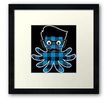 Octopus Hipster 2 Framed Print