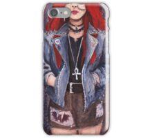 Punk Chick iPhone Case/Skin