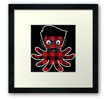 Octopus Hipster 3 Framed Print