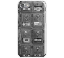 Yosemite NP Post Office Boxes iPhone Case/Skin