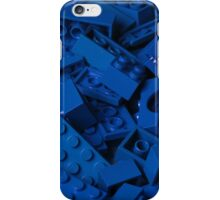 Blue Lego Bricks iPhone Case/Skin