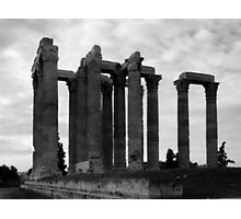 Temple of Olympia Zeus Photographic Print