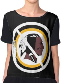 Anti Washington Redskins Chiffon Top