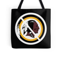Anti Washington Redskins Tote Bag