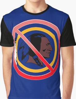 Anti Washington Redskins Graphic T-Shirt